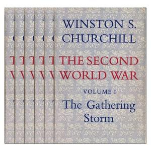 The Second World War by Winston Churchill -  6 Volume Set - First Editions