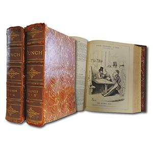 Punch 1840 -1890 - Set of 25 Books