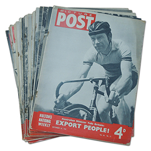 Picture Post: Sporting Events - A Collection of 32 Magazines (1946-52)