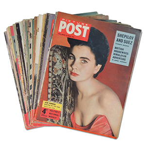 A Collection of Over 30 'Picture Post' Magazines (1940's-50's)