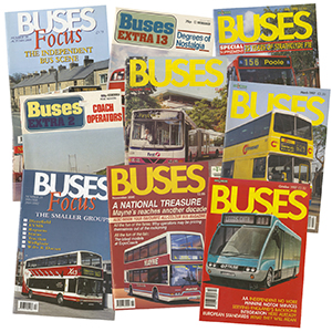 10 Assorted Bus Magazines