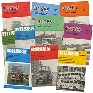 20 Assorted Bus Magazines - Buses / Buses Illustrated