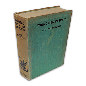 P G Wodehouse Young Men in Spats 1936 First Edition