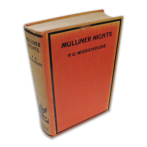 P G Wodehouse Mulliner Nights 1933 First Edition