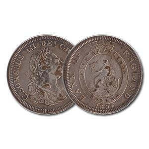 1804 Bank of England Emergency Issue Coin - 5 Shillings