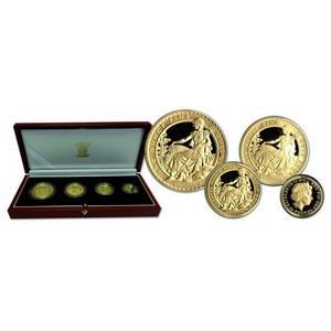 2005 Britannia Collection Gold Proof Four Coin Set