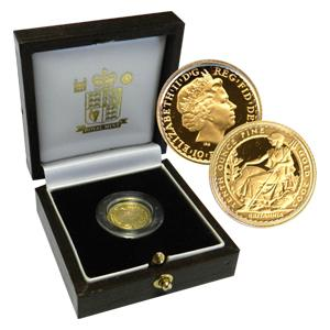 2005 1/10oz Proof Gold Britannia