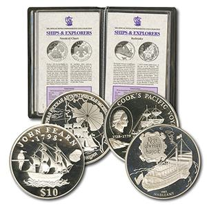 Official Silver Crown Collection of Ships and Explorers