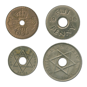 1936 Edward VIII coins (4)