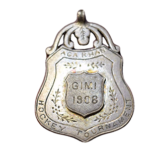 India 1908 Silver Aga Khan Field Hockey Tournament Award