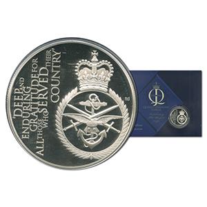 Royal Mint 2012 Diamond Jubilee Alderney Silver £5 Coin