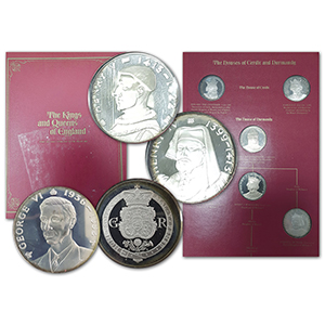 The Kings & Queens of England Sterling Proof Set