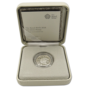 The Royal Birth 2018 Silver Penny