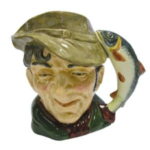 Royal Doulton Large Toby Jug - The Poacher