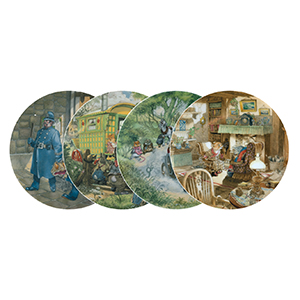 Wedgwood Collector Plates Wind in the Willows - Set of 12