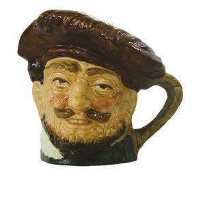 Royal Doulton Large Toby Jug - Sir Francis Drake