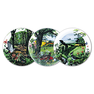Wedgwood Collector Plates Country Panorama - Set of 8