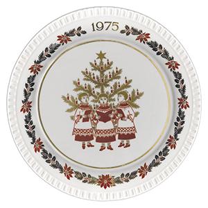 Spode Christmas Plate - 1975