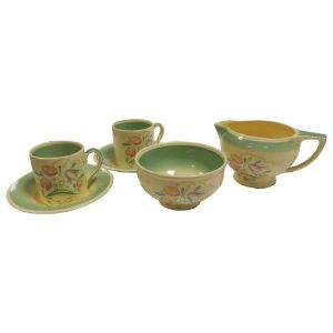 Susie Cooper Coffee Set - Set for 6