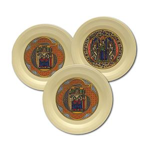 Hornsea Pottery Limited Edition Christmas Plates - Set of 3