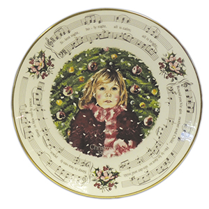 Royal Doulton - Decorative Plate - Christmas Carols Silent Night