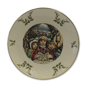 Royal Doulton Limited Edition Collector Plate - 1981 Merry Christmas