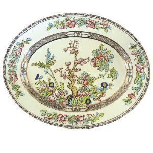 Alfred Meakin - Oval Serving Dishes in Bengal Tree Pattern -  Set of 3