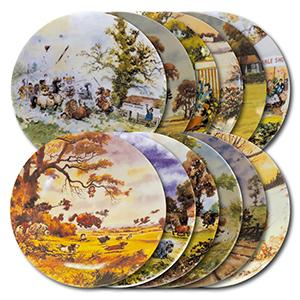 Royal Worcester Collector Plates - Thelwell's Ponies Collection - Set of 10