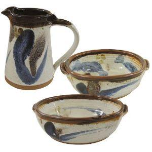 Jennie Gilbert English Stoneware Pottery Items