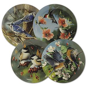 Birds of Your Garden 7 Collector Plates