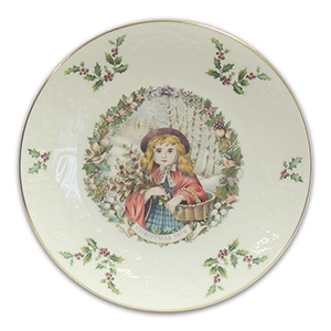 Royal Doulton Christmas Collectors Plate 1978