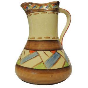 Myott Art Deco Hand-Painted 'Persian' Jug