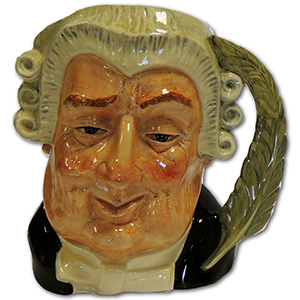 Royal Doulton - Toby Jug - The Lawyer