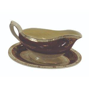 Crown Ducal Porcelain Gravy Boat