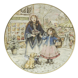 NSPCC Christmas Collector Plate - 1991