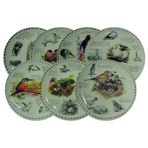 Bird Watcher's Notebook Commemorative Plates - Set of 7