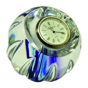 Caithness Paperweight Clock