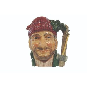 Royal Doulton Toby Jug -The Lumberjack