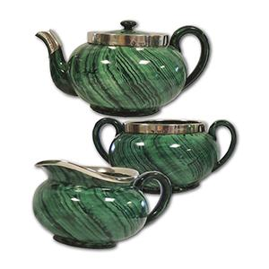 Royal Doulton Tea Set 1912 - 11 Piece Set