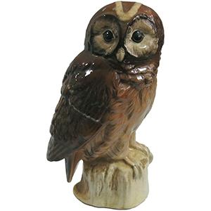 Whyte & Mackay Tawny Owl Ceramic Flask