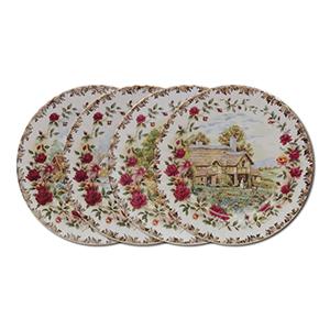 Royal Albert Four Seasons Set of 4 Plates