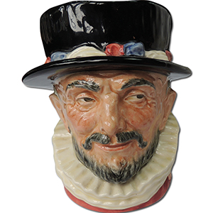 Royal Doulton Toby Jug - Beefeater