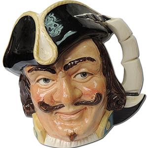 Royal Doulton Toby Jug - Captain Henry Morgan