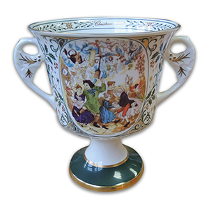 Caverswell 1981 Christmas Limited Edition Goblet