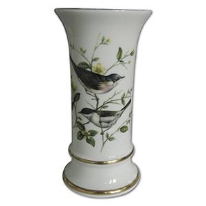 Coalport The Whitethroat Vase