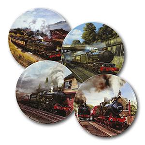Great Western Dreams x 4 plates
