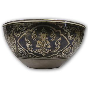 Thai Inspired Silver Bowl