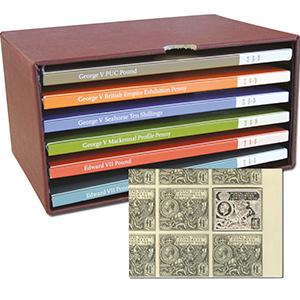 Edward V.I.I. & George V Silver Stamp Ingot Collection