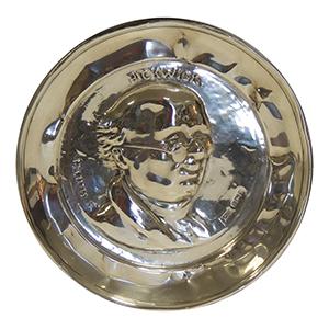 Mr. Pickwick Silver Dish - 1910