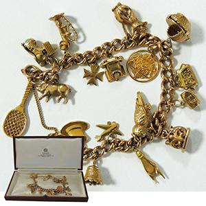 Fantastic 9ct Charm Bracelet